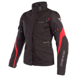TEMPEST 2 LADY D-DRY JACKET - BLACK/BLACK/TOUR-RED