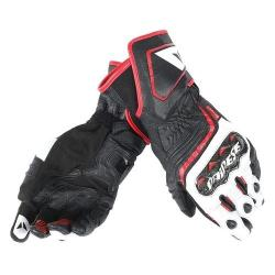 CARBON D1 LONG LADY GLOVES - BLACK/WHITE/LAVA-RED