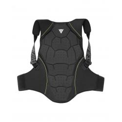 BACK PROTECTOR SOFT FLEX MAN - BLACK/GREEN-FLASH
