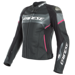 RACING 3 D-AIR LADY LEATHER JACKET -...