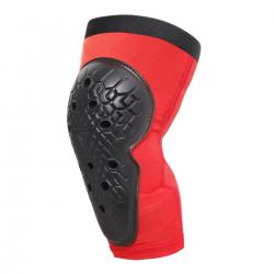 SCARABEO KNEE GUARDS - BLACK/RED