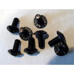 F2 śruby montażowe (do wiązań Titanflex) - black