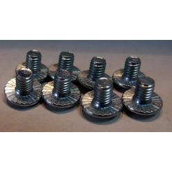 F2 śruby montażowe do wiązań twardych - silver