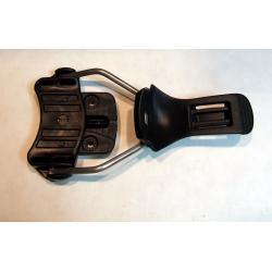 F2 wózek przedni do wiązań twardych - black