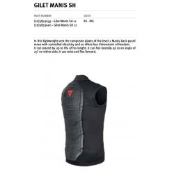 GILET MANIS SH 11 - BLACK