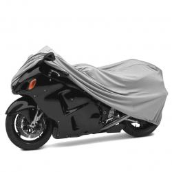 TKN 300D pokrowiec na motocykl - srebrny