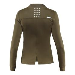 AWA BLACK SOFT FLEECE - EARTH