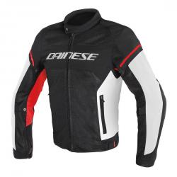 AIR FRAME D1 TEX JACKET - BLACK/WHITE/RED