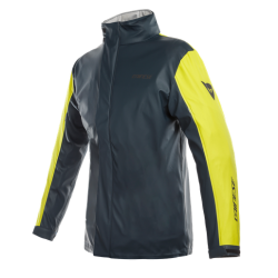 STORM LADY JACKET - ANTRAX/FLUO-YELLOW