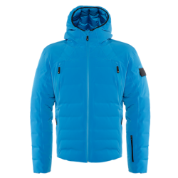 SKI DOWNJACKET SPORT - IMPERIAL-BLUE/STRETCH-LIMO