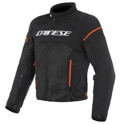AIR FRAME D1 TEX JACKET - BLACK/WHITE/FLUO-RED