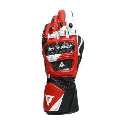 DRUID 3 GLOVES - BLACK/WHITE/LAVA-RED
