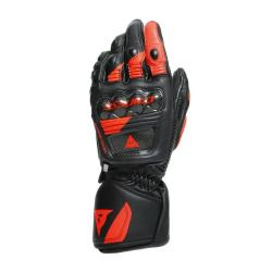 DRUID 3 GLOVES - BLACK/FLUO-RED