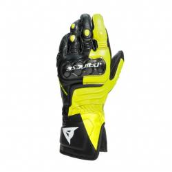 CARBON 3 LONG GLOVES - BLACK/FLUO-YELLOW/WHITE