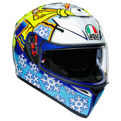 K3 SV AGV E2205 TOP MPLK - ROSSI WINTER TEST 2016