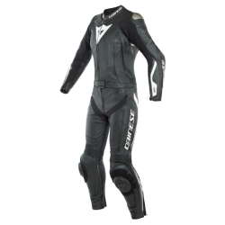 AVRO D-AIR LADY 2PCS SUIT - BLACK/BLACK/WHITE