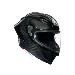 PISTA GP RR AGV ECE-DOT SOLID MPLK - GLOSSY CARBON