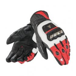 4 STROKE EVO GLOVES - WHITE/RED/BLACK
