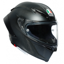 PISTA GP RR AGV ECE-DOT SOLID MPLK - MATT CARBON