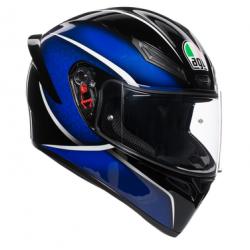 Kask Motocyklowy AGV K1 - QUALIFY BLACK/BLUE
