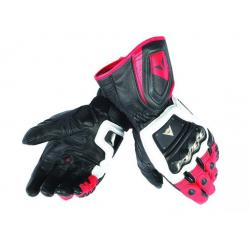 4 STROKE LONG GLOVES - WHITE/RED/BLACK