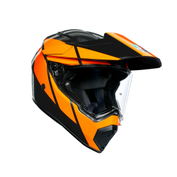 AX9 AGV E2205 MULTI MPLK - TRAIL GUNMETAL/ORANGE