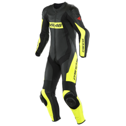 VR46 TAVULLIA LEATHER 1PC SUIT PERF. -...
