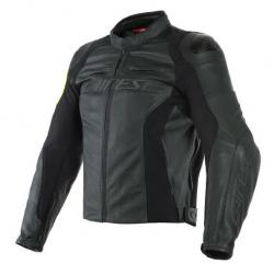 VR46 POLE POSITION LEATHER JACKET -...