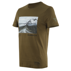 ADVENTURE DREAM T-SHIRT - MILITARY-OLIVE/BLACK
