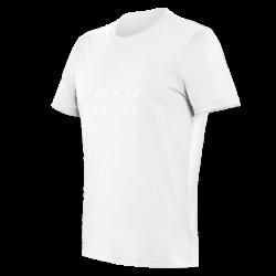 PADDOCK T-SHIRT - WHITE/WHITE
