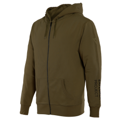 ADVENTURE FULL-ZIP HOODIE - MILITARY-OLIVE/BLACK