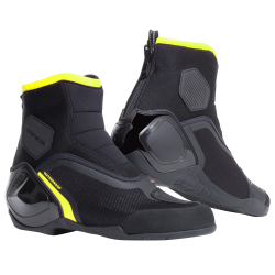 DINAMICA D-WP SHOES - BLACK/FLUO-YELLOW