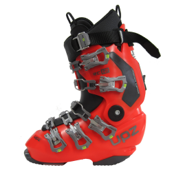 UPZ RC12 buty snowboardowe twarde - red-orange