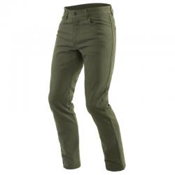 CASUAL SLIM TEX PANTS - OLIVE