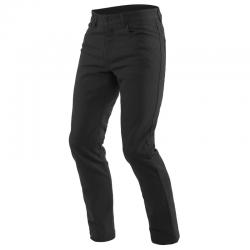 CASUAL SLIM TEX PANTS - BLACK