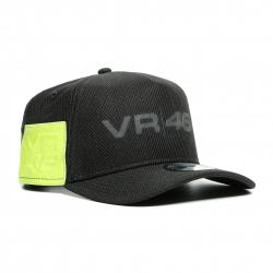 DAINESE VR46 9FORTY CAP - BLACK/FLUO-YELLOW
