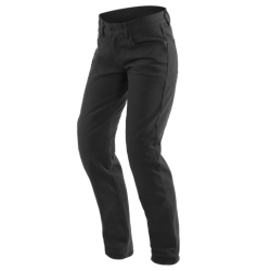 CASUAL REGULAR LADY TEX PANTS - BLACK