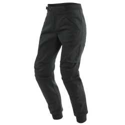 TRACKPANTS LADY TEX PANTS - BLACK