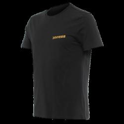Koszulka Dainese HATCH T-SHIRT - BLACK/ORANGE