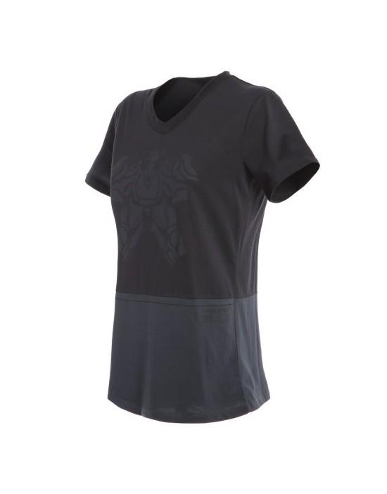 LAGUNA SECA T-SHIRT - ANTHRACITE/BLACK