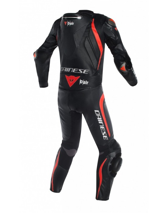 MUGELLO R D-AIR - BLACK/BLACK/FLUO-RED